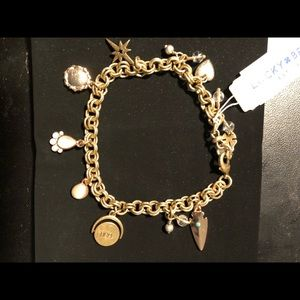 Lucky Brand bracelet with charms